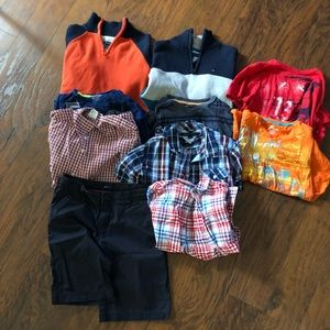 Other - Lot of 2 sweater, 3 button down,4 shirts, 1 pant
